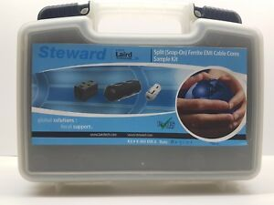 Steward Laird Kit K 404 Emi A Split Snap on Ferrite Emi Cable Cores Sample Kit