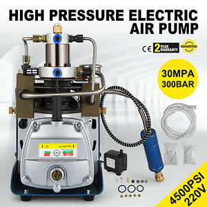 30mpa High Pressure Air Compressor Pump Rifle Electric Air Pump Pcp Great