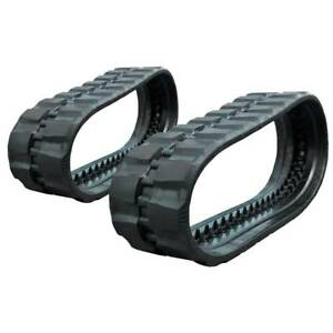 Pair Of Prowler Case 450ct Rd Tread Rubber Tracks 400x86x55 16
