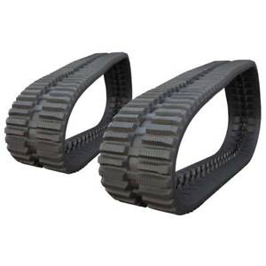 Pair Of Prowler Bobcat T180 At Tread Rubber Tracks 400x86x49 16