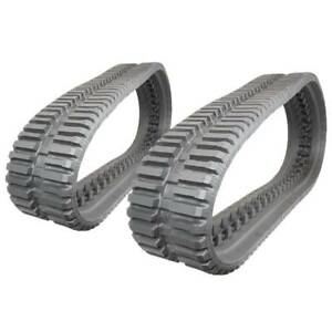 Pair Of Prowler Bobcat T650 At Tread Rubber Tracks 320x86x52 13