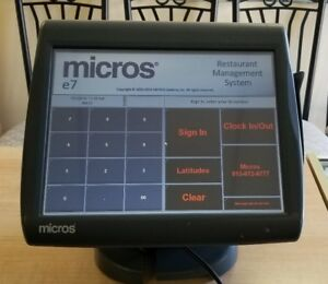 Micros Ws5a Workstation Used