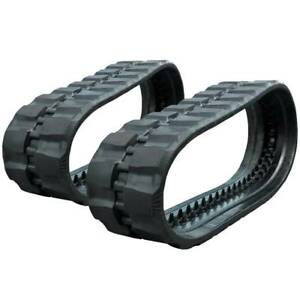 Pair Of Prowler Case Tr340 Rd Tread Rubber Tracks 450x86x58 18