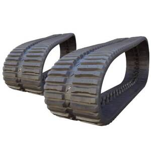 Pair Of Prowler Cat 289d At Tread Rubber Tracks 450x86x56 18