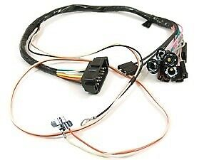 1968 Camaro Console Wiring Harness Manual W console Gauges