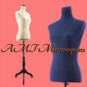 Ycv 11pn Female Mannequin Toros Tripod Stand blue Jeans Cover linen Dressform