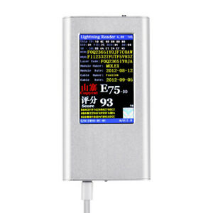 Yg616 Iphone Data Cable Tester For Iphone True And False Detector Recognizer