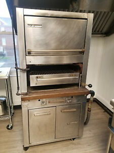 Garland Charbroil Propane Oven Charbroiler Good Working Condition