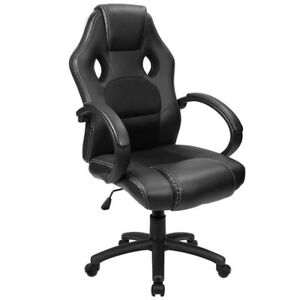 Furmax Office Chair Pu Leather Gaming Chair High Back Ergonomic Racing Chair