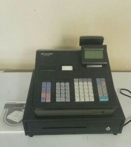 Sharp Xe a407 Cash Register With Scanner Used