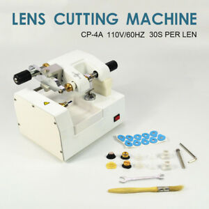 Cp 4a 30s lens Optometry Eyeglass Optical Lens Cutter Cutting Milling Machine Hq
