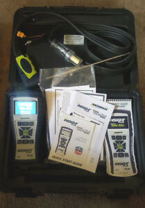 Bacharach Combustion Analyzer Kit 0024 7344 Hvac Gas Lp Oil Efficiency Meter
