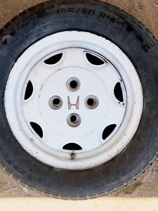 Original Honda Civic Rims And Tires