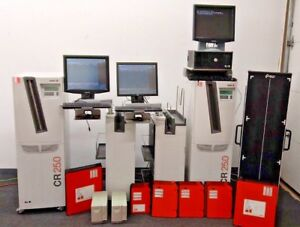 Agfa Cr 25 0 Lot With Nx Workstations And X ray Cassettes