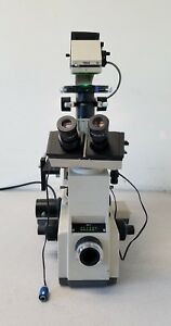 Olympus Imt 2 Inverted Microscope With 6 Objectives