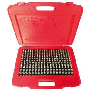 250 Piece m2 Pin Gage Set 251 500 4101 0012