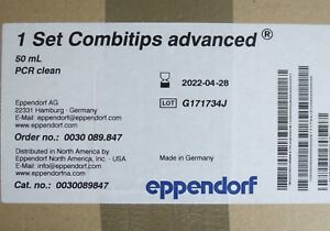 Case 100 Eppendorf Combitips Advanced Pipette Tips 50ml 0030089847