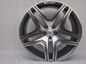 20 Ml63 Amg Style Gunmetal Wheels Rims Fits Mercedes Benz M Ml Gl Class 4matic