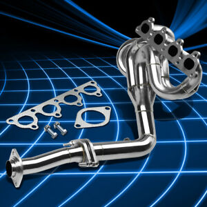 Fit Honda Civic 88 00 D15 D16 Stainless 4 1 Drag Racing Header Manifold Exhaust