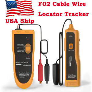 Usa Ship Nf 816 Underground Cable Wire Locator Tracker Lan Tester With Earphone