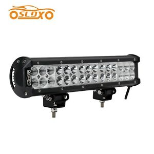 Sldx 90w 14inch Spot Flood Off Road Led Light Bar 6000lm For Jeep Atv Truck Ip68