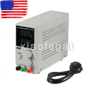 Longwei Lw k3010d 30v 10a Adjustable Dc Power Supply With Led Display Usa Ship