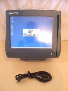 Micros Workstation 4 System Unit Touch 28746 W Window Ce Stand