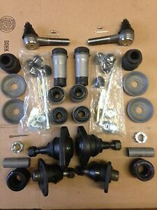 Lincoln Continental 1963 1965 Steering Linkage And Front Suspension Re