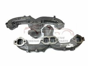 Chevy Rams Horn Exhaust Manifold Center Dump New Set 2pc