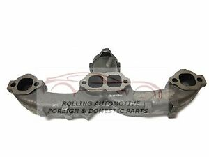 350 5 7l Chevrolet Corvette Center Dump Ram Horn Exhaust Manifold New 72 80