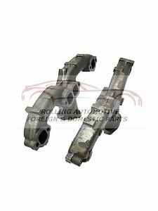283 327 350 5 7l Chevrolet Gmc Ram Horn Center Dump Exhaust Manifold New Set