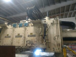 Cincinnati Milacron 5 axis 3 spindle Gantry Mill