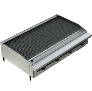 Pantin 48 Heavy Duty Countertop Gas Radiant Grill Charbroiler Nsf Mea Pcb 48
