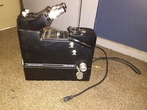 Baush Lomb Bench Metallograph Microscope used Cat No 42 31 32
