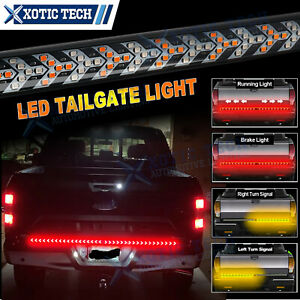 Truck Tailgate Led Light Bar 48 Inch Brake Reverse Turn Signal Stop Tail Strip