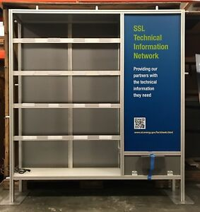 Octanorm Modular Extruded Aluminum Style Trade Show Exhibit Booth Display