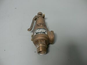 Spirax Sarco 570fe 1 X 1 25 Steam Safety Valve