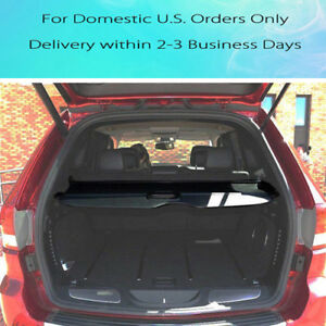 Cargo Cover Retractable Security Shield Rear Trunk For Jeep Grand Cherokee