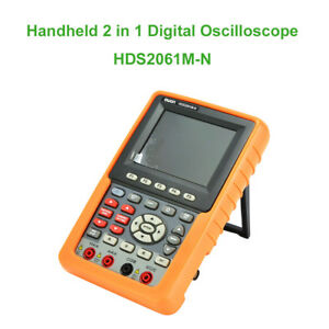 2 In 1 Hds2061m n 500 Ms s 60mhz Digital Oscilloscope Auto scale Circuit Testing