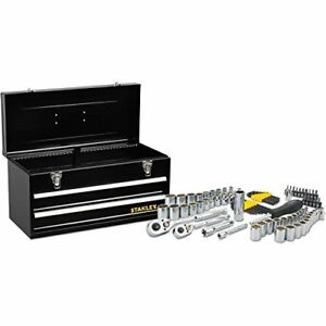 Stanley 81 Piece Standard Sae And Metric Mechanics Tool Set With Tool Chest