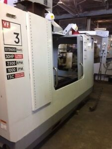 2006 Haas Vf3yt 50 Cnc Vertical Machining Center video Free Loading Michigan