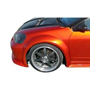 For Acura Rsx 02 06 Gt300 Style Fiberglass Wide Body Front Fenders Unpainted