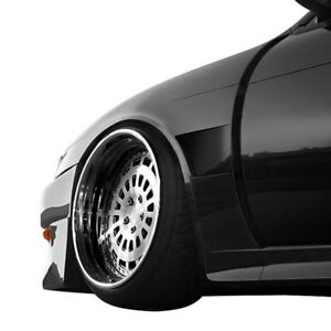 For Nissan 240sx 97 98 Front Fenders V Speed Style Fiberglass Wide Body Front