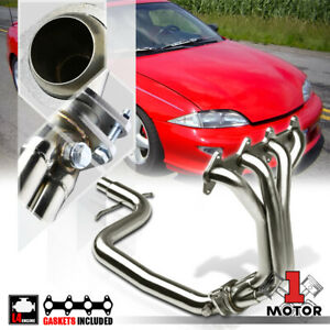 Stainless Steel Exhaust Header Manifold For 95 02 Chevy Cavalier Sunfire Ln2 2 2
