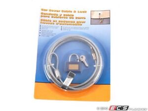 Genuine Bmw Car Cover Cable And Lock 82111467081