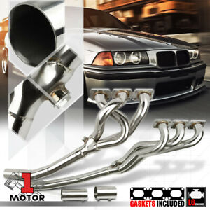 Stainless Steel Exhaust Header Manifold For 92 99 Bmw E36 3 Series 2 8 3 2 M3 I6