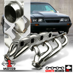 Stainless Steel Shorty Exhaust Header Manifold For 79 93 Ford Mustang 5 0 302 V8