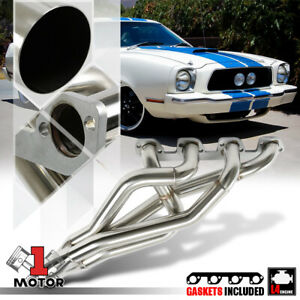 Stainless Steel Exhaust Header Manifold For 74 80 Ford Pinto mustang Ii 2 3 140