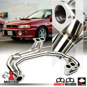 Stainless Steel Exhaust Header Manifold For 97 05 Subaru Impreza Rs 2 5 Ej25 Na
