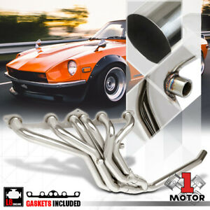 Ss Full Length Exhaust Header Manifold For 77 83 Datsun 280z 280zx 2 8 Non turbo